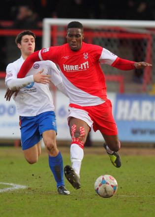 Chey Dunkley could be back for Grimsby. Picture: ADRIAN HOSKINS