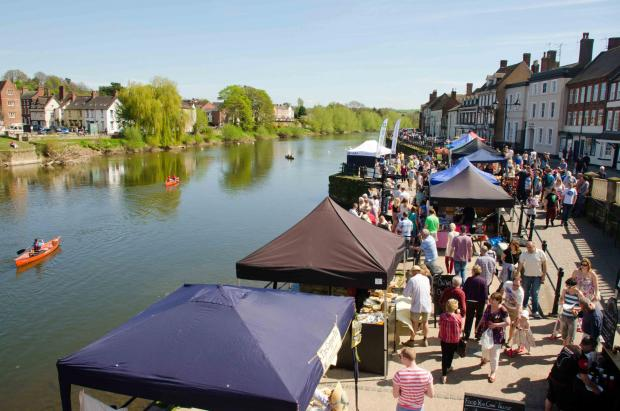 SOMETHING FOR EVERYONE: The annual Bewdley Spring Fair will take place on Sunday and Bank Holiday Monday. Photo: GARY MAYNER.
