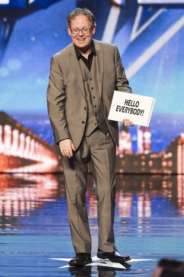 MAGIC MOMENT: Jay Adkins appearing on Britain's Got Talent. Photo: ITV.