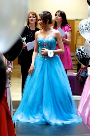 RED CARPET READY: Kidderminster College students held a prom event for year 11 pupils.