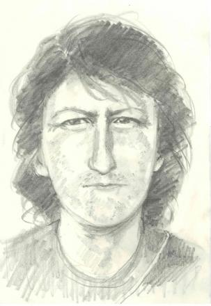 WANTED: An artist's impression of the man police are trying to trace.