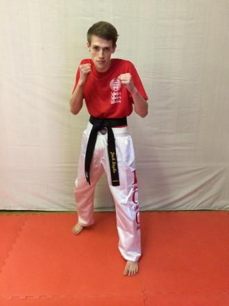 Bound for Euros: Jack Baylis will fight in the European Championships for Stourport UK Kicknoxing, but it will be his final big tournament for a while.
