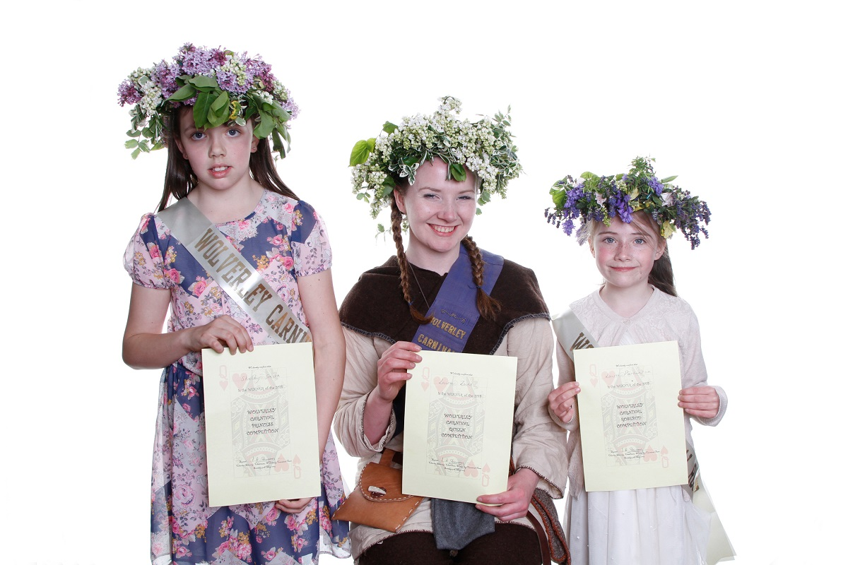 Wolverley Carnival 'royals' chosen during May Day festivities