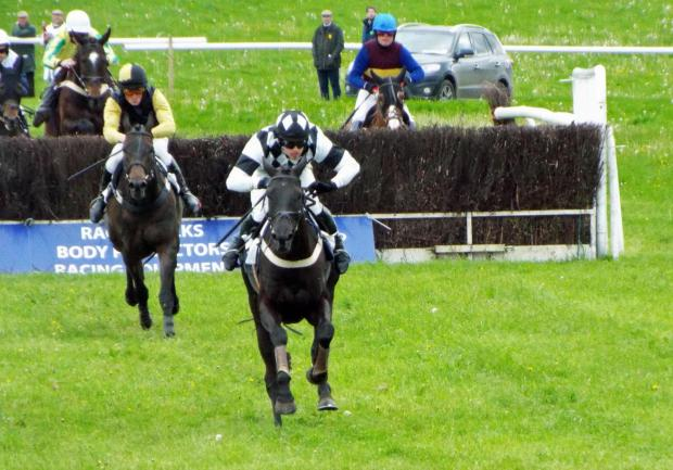 Ohowya and Tom Ellis storm clear to land the Maiden in Chaddesley Corbett.