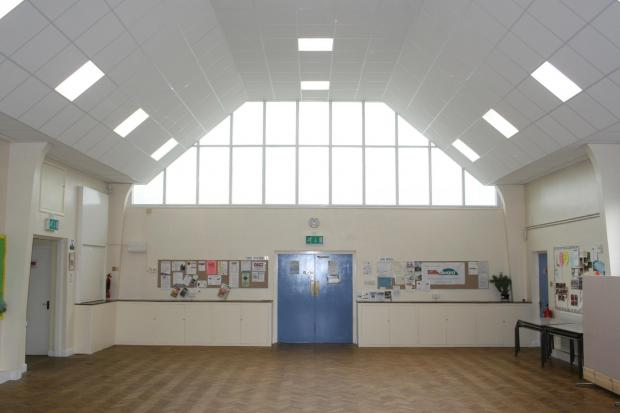 FACE LIFT: The new look of St Chad's Church Hall.