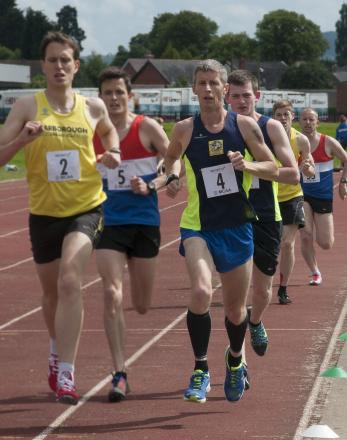 Stuart Hawkes (blue jersey) was in good form for KSAC. Pic: ANDREW PRIEST