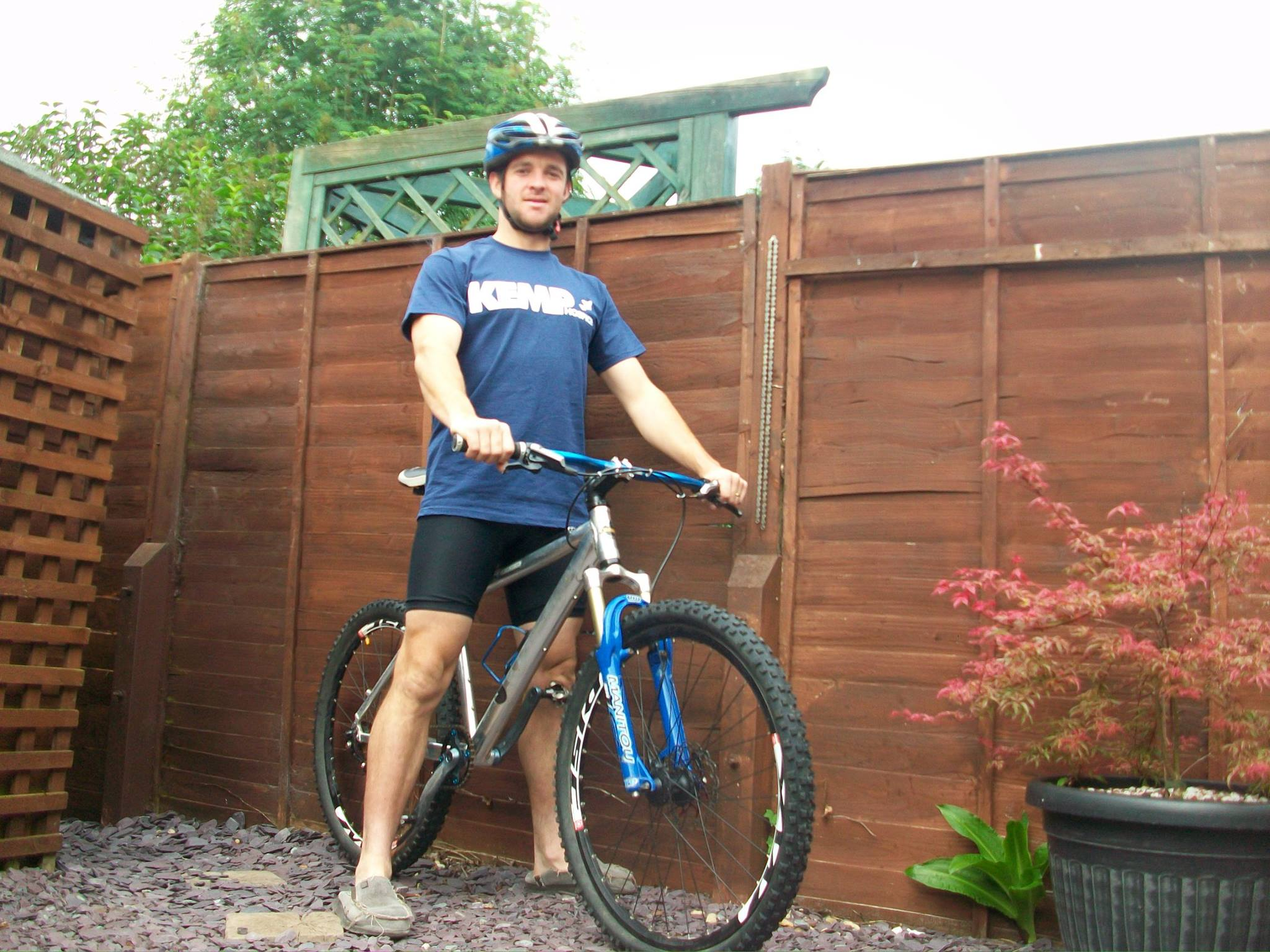 FUNDRAISING CHALLENGE: Pablo Requejo will cycle for 24 hours.