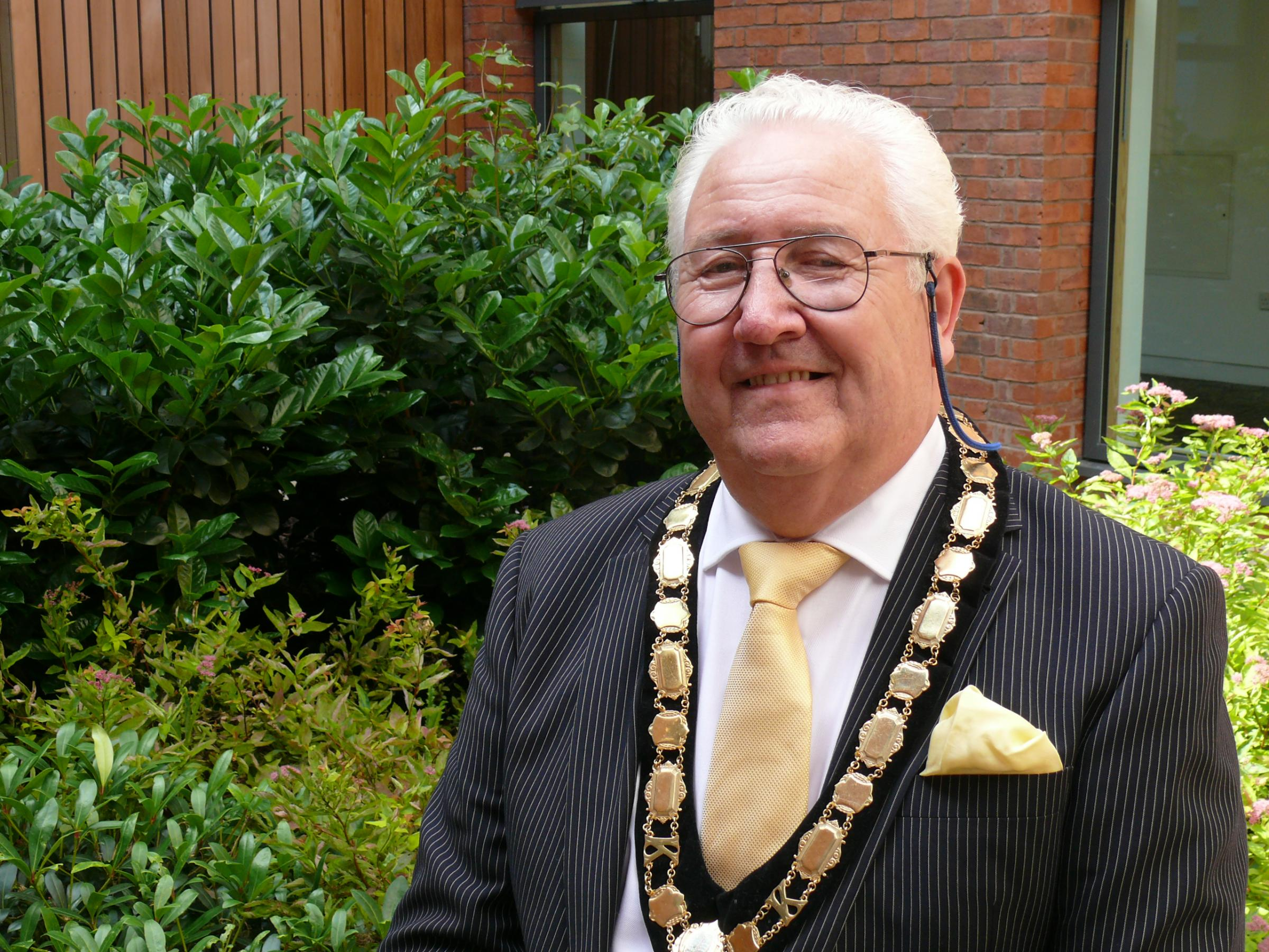 New council chairman aims to be apolitical