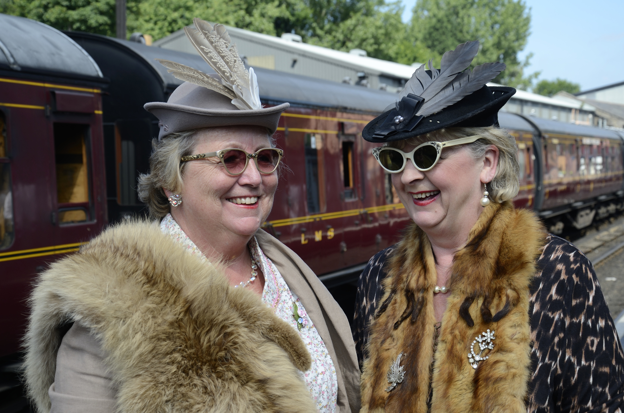 VINTAGE EVENTS: The Step Back to the 1940s weekends will take place at Severn Valley Railway.