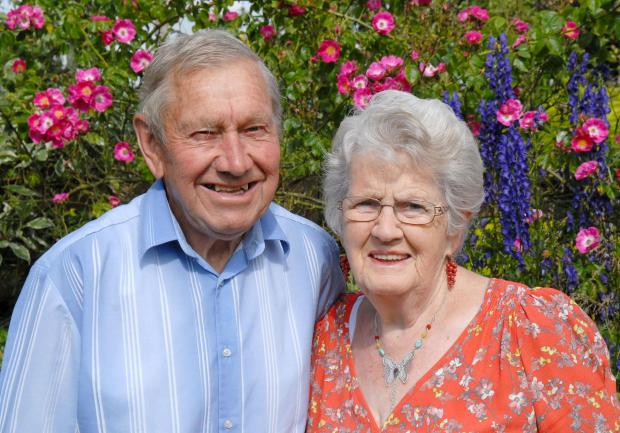 DIAMOND ANNIVERSARY: Trimpley couple celebrate 60 years of marriage.