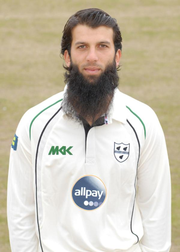 ENGLAND MAN: Moeen Ali impressed County director of cricket Steve Rhodes with his gritty display at Headingley.