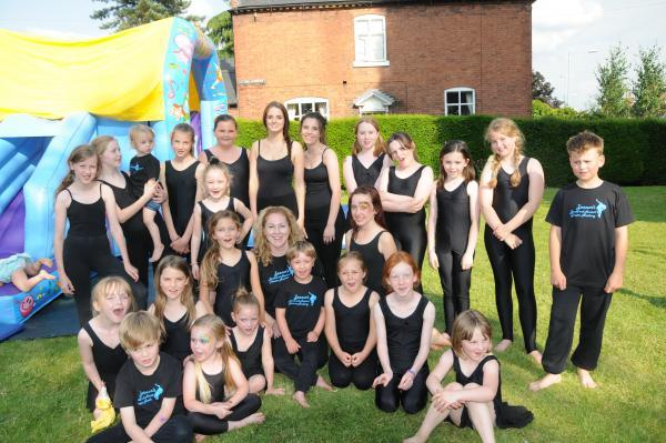 FUNDRAISER: Performers danced in support of the hospital heart ward.