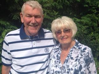 GOLDEN ANNIVERSARY: Jim and Judy Dent are celebrating 50 years of marriage.