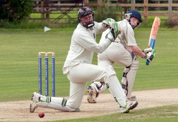 Action from Stourport's victory over Avoncroft in Worcestershire County League Division Three. Picture: MARTIN HUMBY