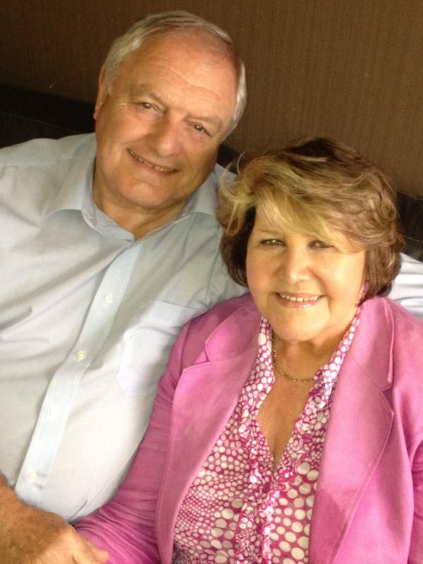 GOLDEN COUPLE: John and Hilary Desmond are celebrating their 50th wedding anniversary today.