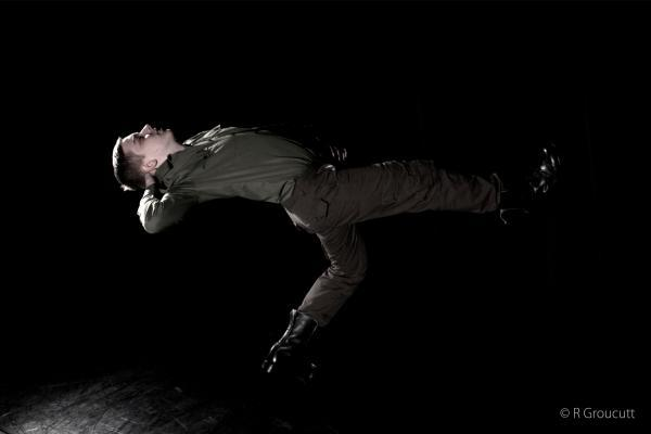 NEW CHOREOGRAPHY: Dancer Adam Fisher will perform in new piece Love, Honour, Sacrifice at Kidderminster College.