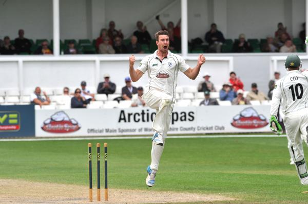JACK SHANTRY: Returns to the Worcestershire line-up after being rested for Tuesday's Royal London One-Day Cup victory over Northamptonshire.