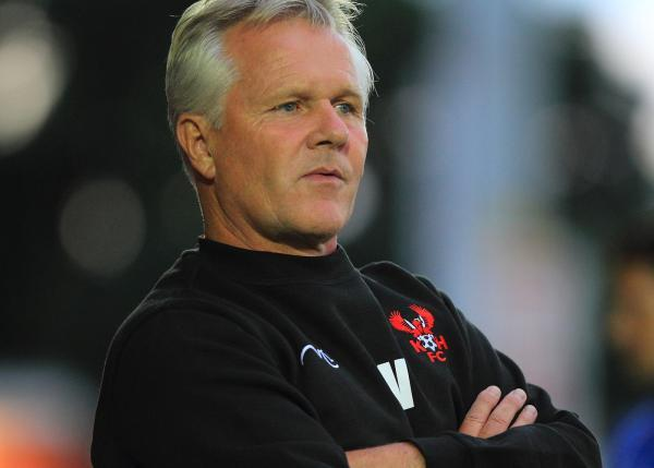 Harriers boss Gary Whild. Picture: ADRIAN HOSKINS