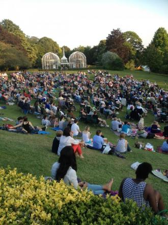 Theatre in the sun: Birmingham Botanical Gardens