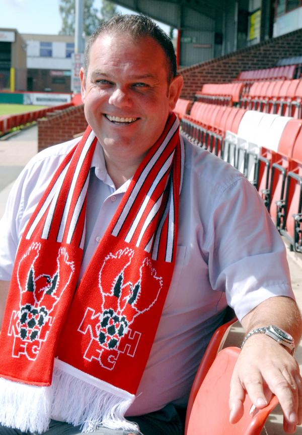 Committed: Harriers chairman Ken Rea. Picture: MIRIAM BALFRY