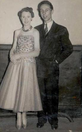 CLUB FOUNDERS: Frank and Wynne Freeman in the 1950s.