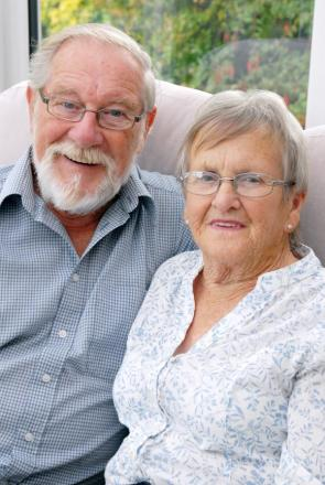 GOLDEN WEDDING: Mick and Gill Price are celebrating their anniversary today. 341456M