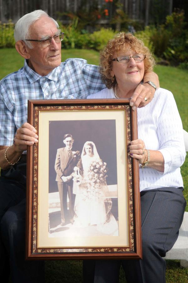 Sweethearts celebrate diamond anniversary