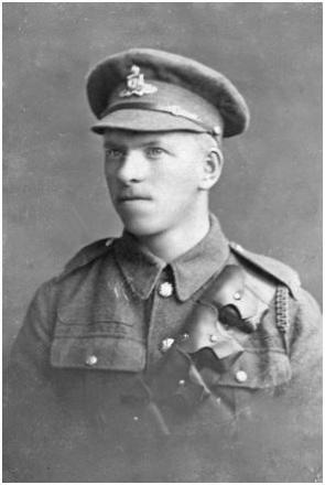 WAR HERO: The story of Gunner John Rogers, known to his family as Jack, who died at the Battle of Passchendaele, will feature in the performances.