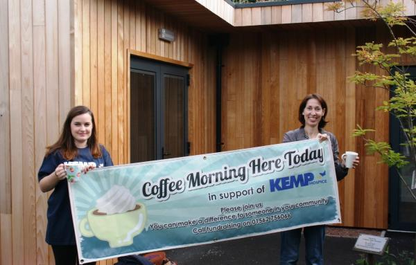 SOCIAL FUNDRAISER: Hold a coffee morning for Kemp Hospice.