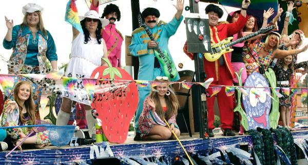 CARNIVAL: York House Medical Centre float as The Beatles at last year's Stourport Carnival. Picture: Aaron Manning