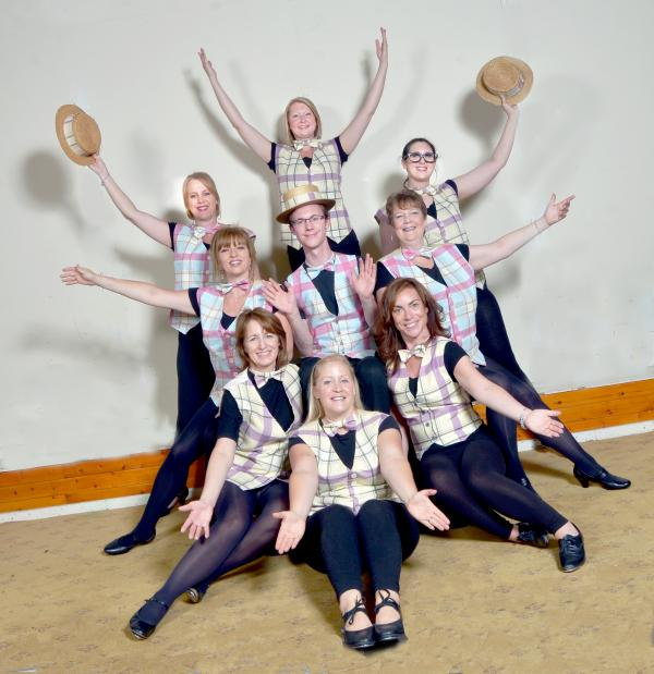 TAP DANCING: Kidderminster Operatic and Dramatic Society will perform Stepping Out.