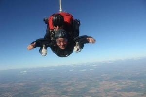 Staff take leap of faith for charity