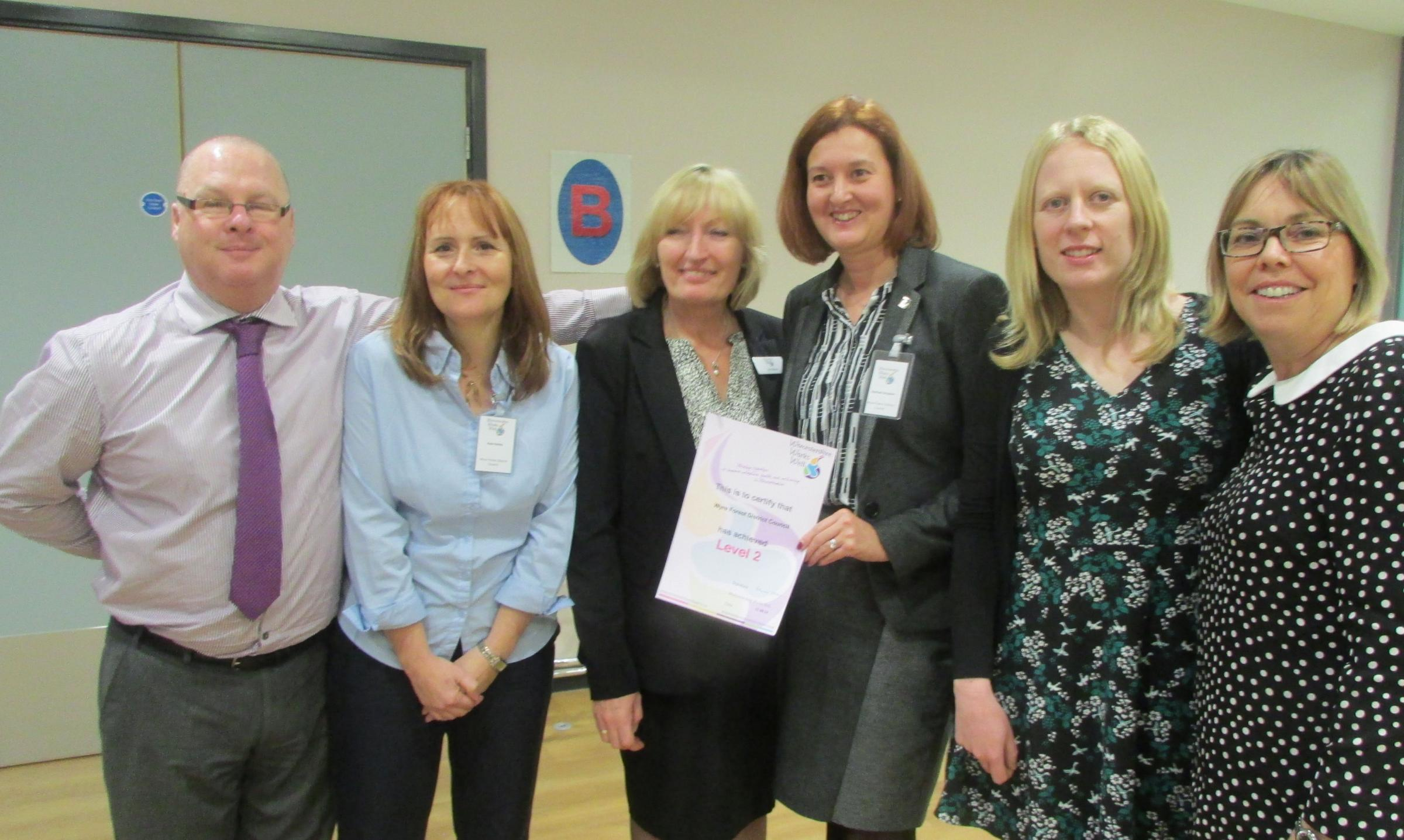 Healthy' council recognised with award | Kidderminster Shuttle