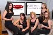 Rejuvenate staff l-r Emily Leach, Dianne Malanaphy, Raquel Timmins and Elaine Newman and Asia Herbut.