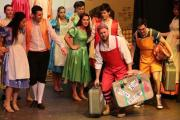 FAIRYTALE FUN: The cast during last year's Sleeping Beauty pantomime.