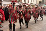 COMING HOME: Foxs Border Morris is to perform in Cookley and Wolverley over the Christmas period.