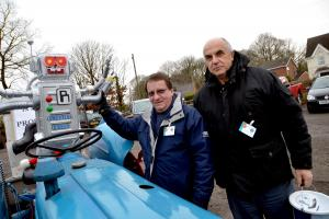 Festive tractor run supports cancer group