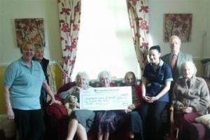 Kidderminster care home donates to Scanner Appeal