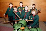 The trailer was a vital piece of equipment to the cubs and scouts in Broadwaters. PIC: Colin Hill