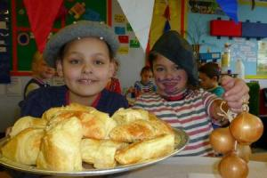 Pupils sample the delights of France