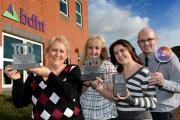 bdht celebrates hitting the top five in the Sunday Times Best 100 Companies awards