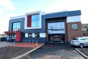 Kinver's new £1.9m fire station under threat of closure