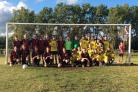 The charity football match raised £273 for Josh's Prayers