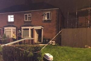 Explosion caused blaze at Rowley Regis flat