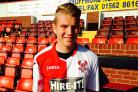 Bournemouth youngster Ben Whitfield has returned to Harriers on a youth loan..