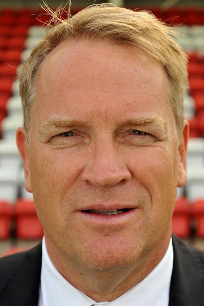 Harriers' chief executive Colin Gordon.