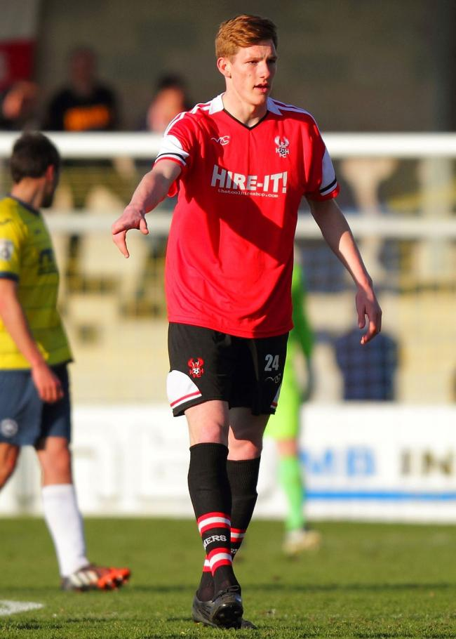 Midfielder Luke Maxwell has signed for Birmingham City but has returned on loan to Kidderminster Harriers. Picture: ADRIAN HOSKINS
