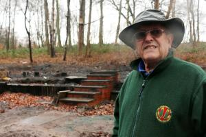 Woodcraft folk hut set to rise from the ashes of arson attack