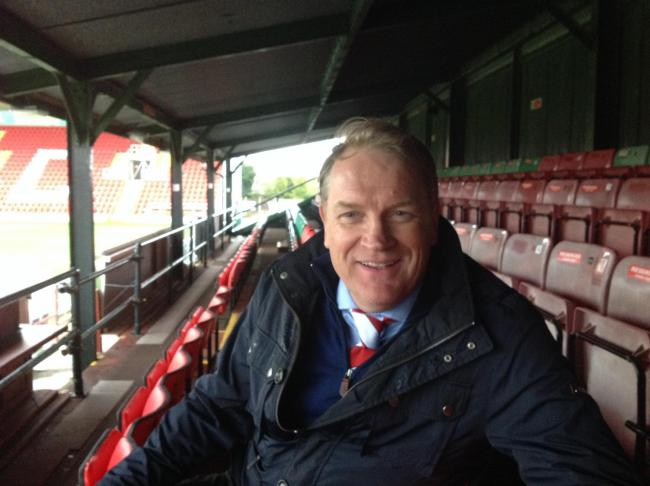 Kidderminster Harriers chief executive Colin Gordon.