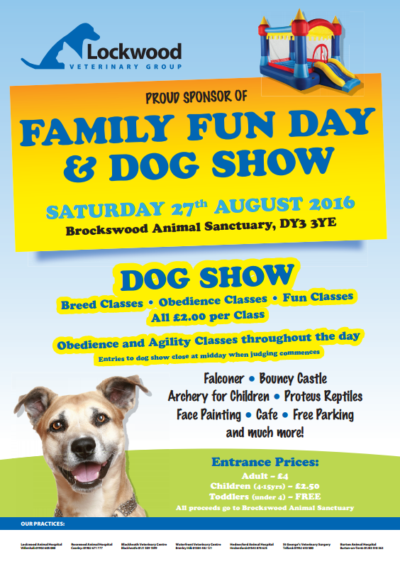 Lockwood Veterinary's Annual Family Fun Day and Dog Show